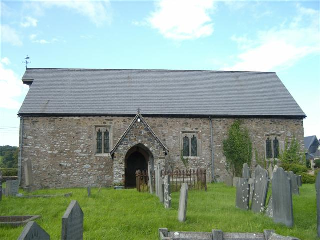 St Mary's Church, Llanllugan